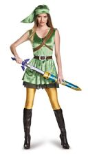 Link Female Adult Womens Costume Size L Large The Legend of Zelda NEW