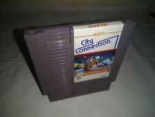 "CITY CONNECTION """" ~ Nintendo NES Video Game ~ NTSC USA Canada Version"
