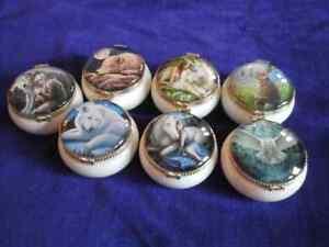 Nemesis Now Fantasy Trinket Boxes, ceramic with fantasy design on lid 5.5cms app