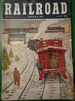 Vintage Railroad Magazine Lot Of Eleven January- November 1951