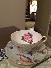 New Wedgwood Cuckoo Green Cup and Saucer