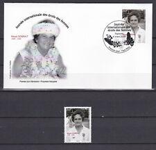 Polynesia 2020 polynesie Droit des femmes Women's rigths FDC + stamp MNH**