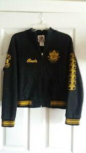 Roots Canada 2002 Salt Lake City Olympic Hockey Champions Womens Lg Jacket