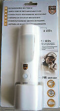 Night Light Emergency Removable Torch Rechargeable Sensor Op Works 10 Hour 1 Cha