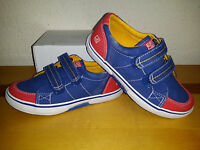 $45 NEW Boys Sperry Top-Sider Halyard H&L Boat Shoes 12M Red Blue