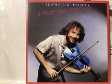 Limited Rare CD sleeve JEAN-LUC PONTY A Taste for Passion STAY WITH ME Drive