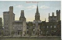 Wales Postcard - Cardiff Castle - Glamorgan - Ref 1402A