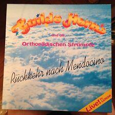 LP Guildo Horn/Orthopädischen Strümpfe *Rückkkehr nach Mendocino* RAR VINYL!