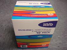 HHB dvd-ram4.7gb Pro-Grade registrabili RISCRIVIBILI DVD-RAM dischi vuoti CONFEZIONE DA 10