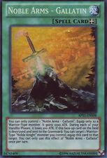 YuGiOh Noble Arms - Gallatin - AP03-EN008 - Super Rare - Unlimited Edition Near