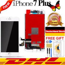 RETINA Display für iPhone 7+ PLUS LCD VORMONTIERT 3D Komplett Frontglas Weiß TOP