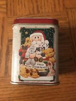 Christmas Candle Tin