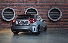 Lorinser Sportauspuff + Heckschürzen-Anbauteil für Mercedes-Benz A-Klasse W176