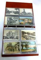 Postcard Album of 36 Antique and Vintage Postcards of Continental Europe