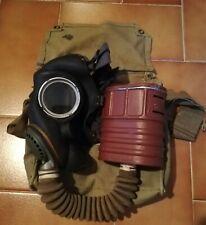 Maschera antigas inglese seconda guerra mondiale ww2 british gas mask tommy 1941