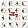 New LETTER POLYESTER CUSHION COVER PILLOW CASE WAIST THROW HOME SOFA DECOR