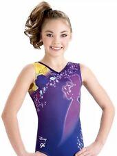 Gk Elite Disney Princess Leotard Gymnastics Purple Belle Beauty and the Beast