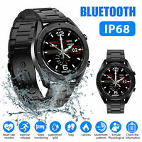 Smart Watch ECG Blood Pressure Oxygen Heart Rate Monitor Sports Waterproof IP68
