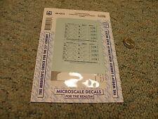 Microscale decals N 60-4313 Farmland Ind Trinity 5161cuft covered hopper  E49