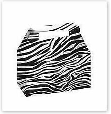 Zebra White Black Party Supplies Boxes Birthday Decoration Gable x12 Bags Animal