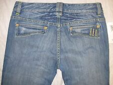 A|X Armani Exchange Size 0 Actual S 28 1/2 X 33 Factory Distressed Women's Jeans