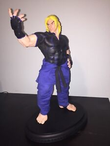 PCS Ken Masters SIDESHOW 103/120 Blue EX Statue STREET FIGHTER 4 5 video Game