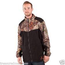 Men's Huntworth Oak Tree Camouflage Mid Weight Fleece Jacket ~ Size Medium ~ Nwt