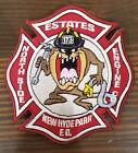 "New Hyde Park FD Estates Engine Company 4"" Patch"