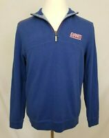 Tommy Bahama New York Giants Mens Small Reversible 1/4 Zip Pullover Jacket NFL