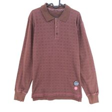 SINGLY Brown Striped Long Sleeve T Shirt Size M XL