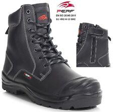 Para Hombre Impermeable S3 Seguridad De Combate Militar Botas de policía para mujeres Botas De Trabajo Zapatos Talla