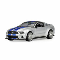 1:24 2014 Ford Mustang Street Racer Collectable Model Car Diecast Vehicle Silver