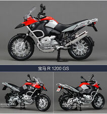 Maisto 1/12 Scale BMW R1200GS Red Diecast Motorcycle Model Water Bird Model Toys