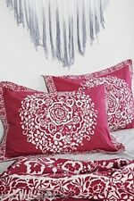 One Urban Outfitters Mina Flower Standard Sham by Plum & Bow Plum & Ivory