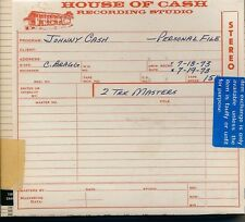 Johnny Cash Personal File 2cd as pictured