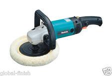 """Makita 9227cb 7 """" / 180mm sander/polisher 240v Con estándar 2-Pin Plug"""