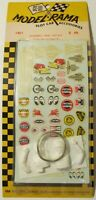 Aurora K&B 1/24 Slot Car Decals - Numbers, Trim, & Driver #1401