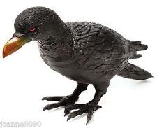 Halloween Caoutchouc Raven Corbeau Oiseau Blackbird FANCY DRESS PROP décoration de jardin