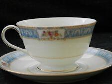 Vintage Valmont Tea Cup and Saucer Belvedere Pattern