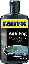 Rainx Anti Fog Eliminates Fogging & Steaming of interior 200ml R81199