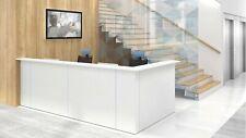 "Nova 131"" L-Shaped Reception Desk, Right Hand"