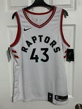 BNWT Nike Toronto Raptors Pascal Siakam Association Swingman Jersey! White M 44!