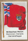 DRAPEAU British Empire britannique Dominion Canada Trade Commerce FLAG CARD 30s