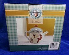 Paula Deen At Home Sugar Cookie Suite Hot Cocoa Pot Teapot w Lid 6 Cup NIB