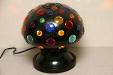 CYCLOTRON DISCO LIGHT BALL (colored lenses spinning light)