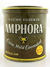 Amphora Mild Cavendish Tobacco Tin Can Empty Container Douwe Egberts 4in S282