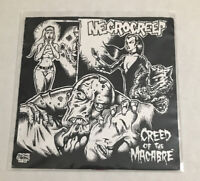 Necrocreep Creed Of The Macabre EP Rare 90s Hardcore