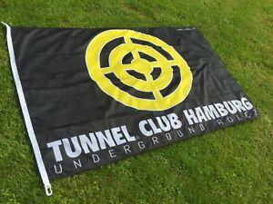 TUNNEL FESTIVAL FLAG - Motiv: TARGET - 150 cm x 100 cm Fahne