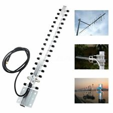 RP-SMA 2.4GHz 25dBi Directional Outdoor Wireless Yagi Antenna WiFi For Router