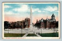 Buffalo NY, McKinley Monument, New York Vintage Postcard